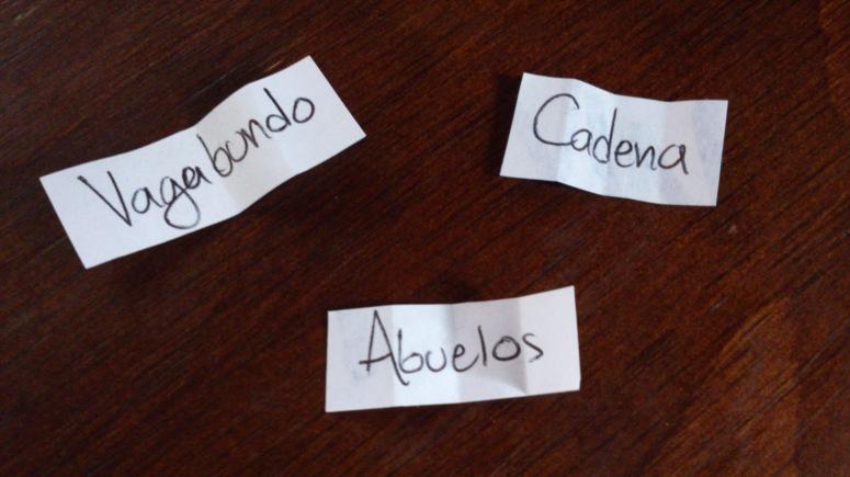 Vagabundo, Abuelos, Cadena